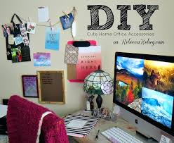 popular cute desk accessories throughout diy office decorations 9