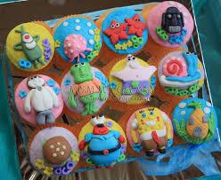 8 Spongebob Cookies Cupcakes Photo Walmart Spongebob Cupcake Cake