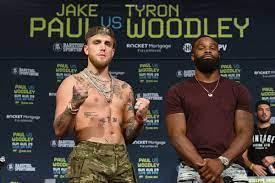 Paul vs. Woodley weigh-in: Date, start ...