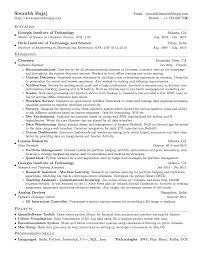 Latex Resume Format Best Cv Examples Curriculum Vitae Template