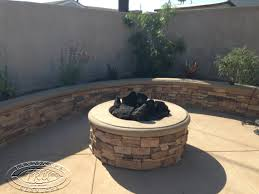 Stacked Stone Fire Pit fire pit archives orange county landscape contractor pany 3145 by uwakikaiketsu.us