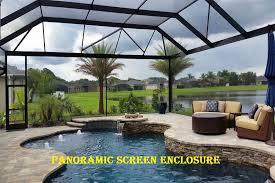 panoramic screen enclosure florida