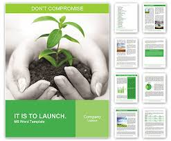 Save Word Templates Save Nature Campaign Word Template Design Id 0000003946