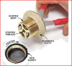 replacing toe touch drain bathtub drain stopper replacement