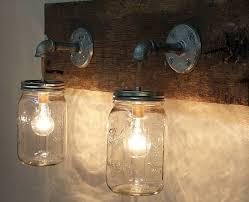 jar lighting fixtures. Image Of: Rustic Lighting Fixture Jar Fixtures A