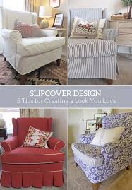 one chair four slipcovers it s amazing how each slipcover gives the same chair a pletely diffe personality the wingback chair featured in these