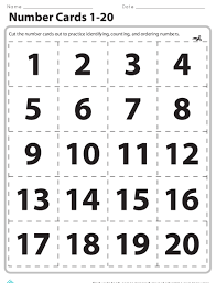 Braille Numbers Chart 1 100 Counting To 20 Get Em In Order Lesson Plan Education Com
