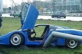 Top 10 Most Expensive Car Crashes   Alternative