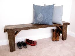 Very sturdy, rustic bench. Quality, handcrafted furniture with creative  character and rustic charm