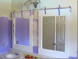 DIY Bathroom UpdateMirrors In My Own Style