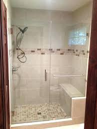 appealing installing glass shower doors frameless shower cost of glass door for shower in glass shower