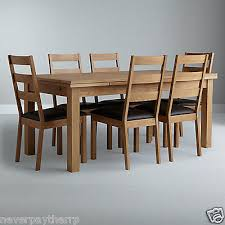 john lewis farmhouse extending dining table oak 6 seater rrp 699