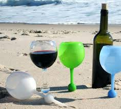beach wine glasses wine glasses that float in water and stand in sand how to make beach wine glasses