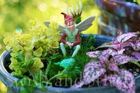simple enchanted fairy gardens