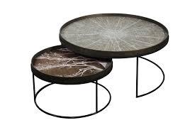 notre monde notre monde coffee table set round xl