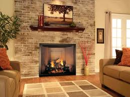 Painting White Brick Fireplace Painted With Tv Wall Color. Off White  Painted Brick Fireplace Painting Wall Color Ed Surround Ideas.