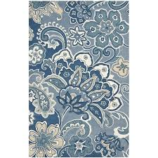 safavieh soho blue contemporary rug 2 x 3