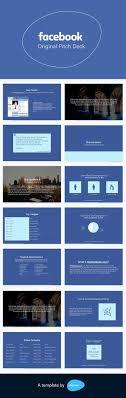 The Facebook Original Design Facebook Pitch Deck Template Facebook Marketing Social
