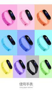 Đồng hồ thể thao unisex đèn led dây silicon chống nước tốt mẫu mới hot giá  sỉ - giá bán buôn
