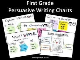 First Grade Persuasive Writing Anchor Charts Lucy Calkins Inspired