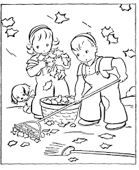 Small Picture Fall Coloring Pages 3 Coloring Kids