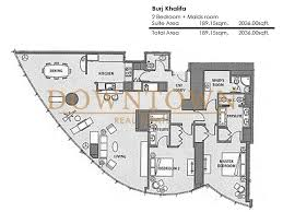 burj khalifa 2 bedroom floor plan home ideas decor