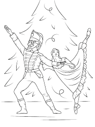 Coloring Pages Ballerina Lifewiththepeppers Com