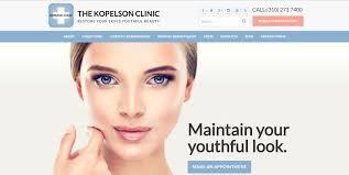 Plastic surgery website