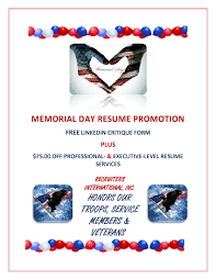 We Honor Our Troops Vets Their Families Vets Free Resume