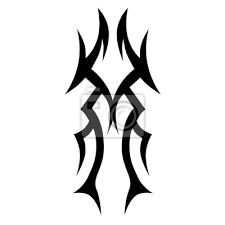 Fototapeta Tattoo Tribal Vector Design Jednoduché Rukávové Rameno Jednoduché