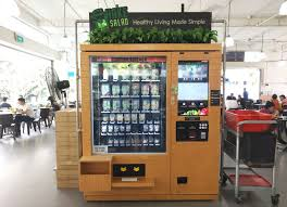 Healthy Vending Machine Singapore Amazing Fussfree Food Of The Future Cashless And Queueless Dining