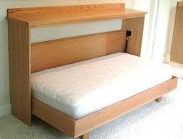 horizontal twin murphy bed. Twin Murphy Bed Horizontal Nice One Person Wall B