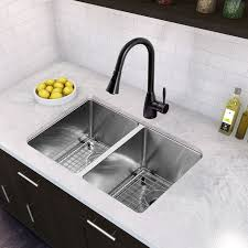 kitchen valuable design ideas double kitchen sinks top 25 best double sink ideas on images