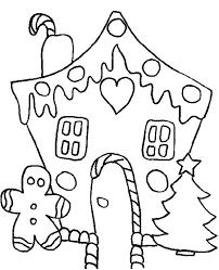 gingerbread house coloring sheet celebrating white christmas with christmas gingerbread house