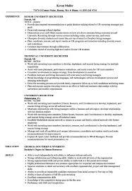 Recruiter Resume Template Beauteous Printable Us It Recruiter Resume Guide Resume Template