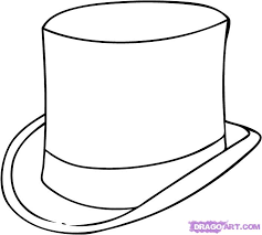 Small Picture The gallery for Mad Hatter Hat Coloring Page printable Alice