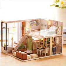 wholesale wooden doll dinning house furniture. simple doll cuteroom doll house miniature diy dollhouse with furnitures wooden  waiting time toys for child inside wholesale dinning furniture l