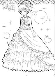 Coloring Shoujo Coloring Pinterest Coloring Books Adult