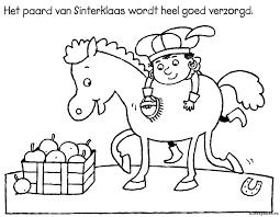 Mooie Paard Van Sinterklaas Kleurplaat Krijg Duizenden