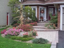 front door landscapingstepped landscape  Birks Landscaping  Design and Build