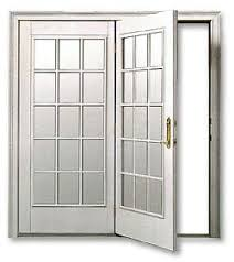 center hinged patio doors. Weathershield Poly Clad. Center Hinged Swing Door Patio Doors G