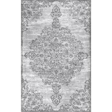 nuloom fl alcala grey 6 ft x 9 area rug bhbp02a 609 the