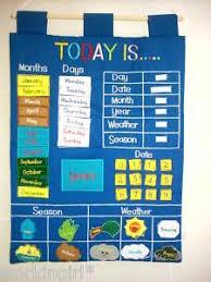 Fiesta Crafts Fabric Star Chart Fabric Weather Chart Kids Education School Calendar