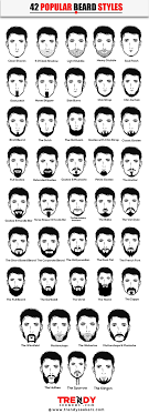 Chart Style 42 The Ultimate Beard Chart 42 Style Trend Infographics
