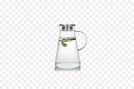 juice pitcher lid carafe glass explosion resistant high temperature glass of cold water bottle