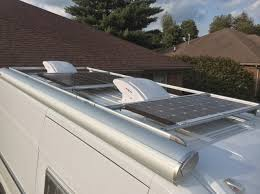 solar panel installation ram promaster forum nicely done i have a similar install but used the fiamma rack