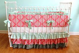 image of modern baby boy crib bedding
