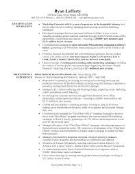 Best Photos Of Marketing Sales Representative Resume