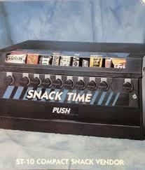Snack Mart Vending Machine Adorable SNACK TIME VENDING Machine 4848 PicClick