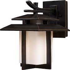 elk lighting 42170 1 kanso outdoor wall mount lantern